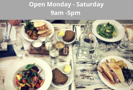 The Green Kitchen Cafe opening hours