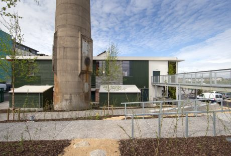 Back of Rediscovery Centre