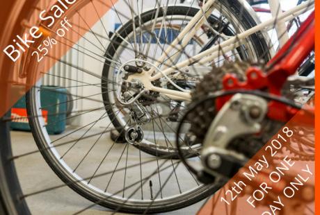 12th May - Bike Sale Graphic