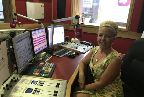 Carrie Ann at Classic Hits 4FM