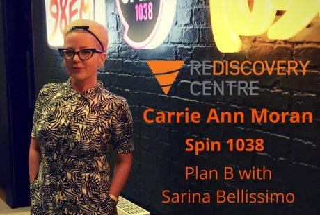 Carrie Ann Moran on Spin 1038