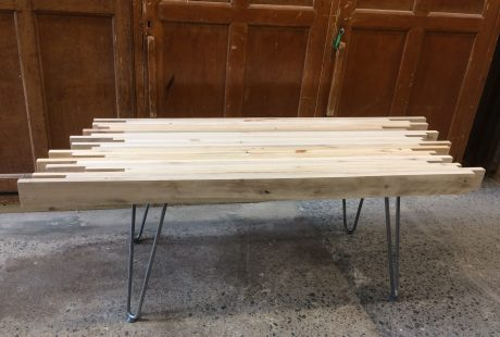 Pallet table workshop