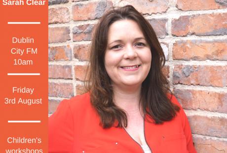 Sarah Clear on Dublin City FM
