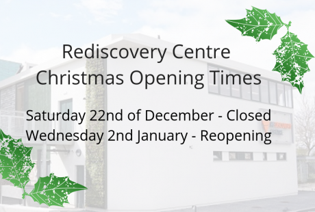 RDC Christmas Opening Times