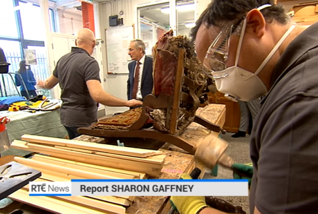 Rediscovery Centre on RTE News