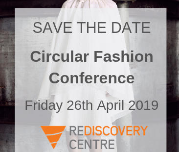Circular Economy Conference - Save the date - 26th April 2019