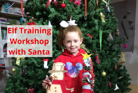 Elf Training Workshop with Santa