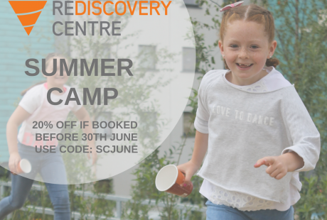 Rediscovery Centre Discount Code