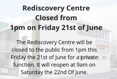 The Rediscovery Centre Closed