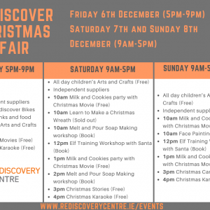 Rediscover Christmas Fair Timetable