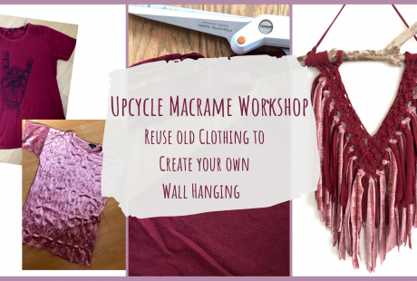 Upcycle Macrame Wall Hanging Workshop
