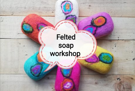 Introduction to Felting Soap Workshop at the Rediscovery Centre