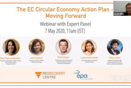 Webinar 'The EC Circular Economy Action Plan – Moving Forward'