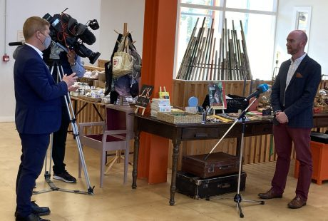 Ed Coleman Rediscovery Centre RTE News