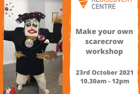 Make your own scarecrow workshop 10.30am