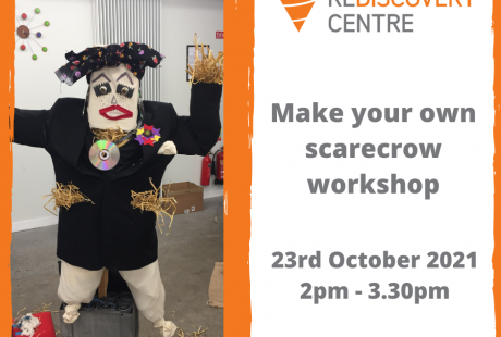 Make your own scarecrow workshop 2pm